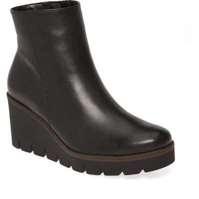 Gabor Wedge Boot- Black