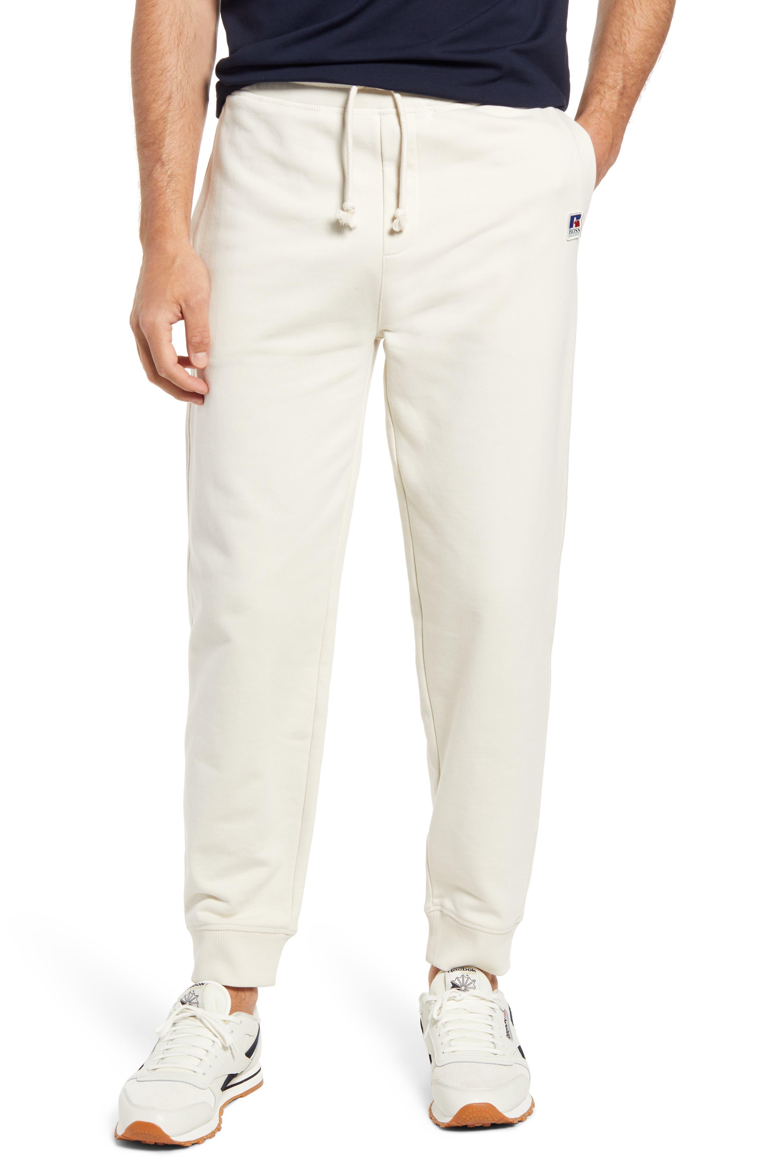 Boss x Russell Athletic Men's Jafara Cotton Sweatpants