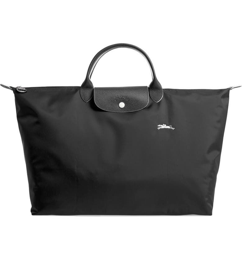 LONGCHAMP Le Pliage Club Tote, Main, color, BLACK