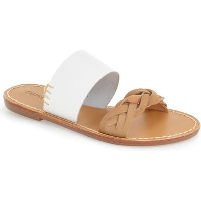 Soludos Slide Sandal, White