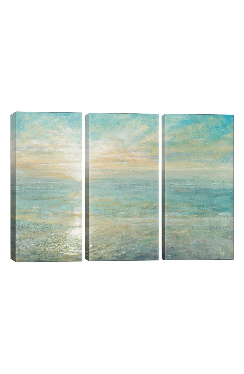 ICANVAS Sunrise by Danhui Nai Giclée Print Canvas Art, Main, color, BLUE/ GREEN