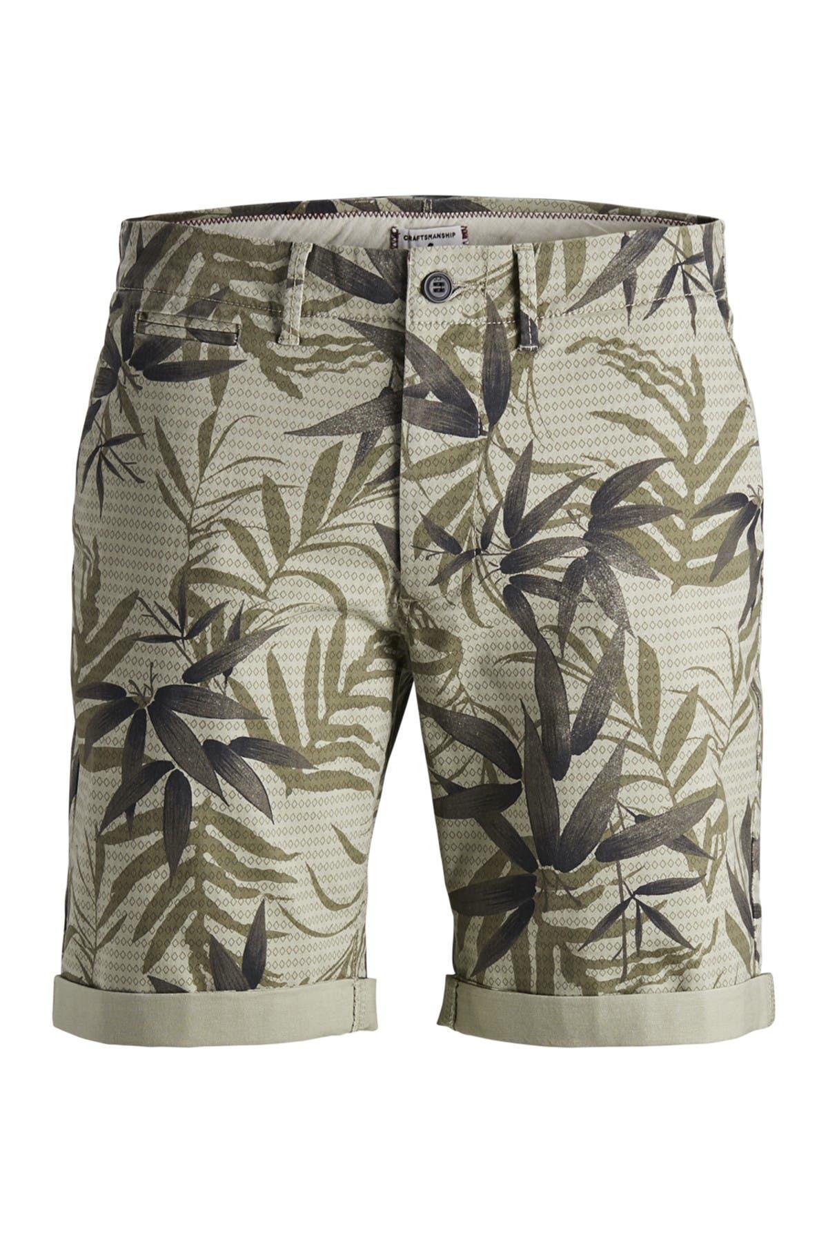 Image of JACK & JONES Enzo Printed Chino Shorts