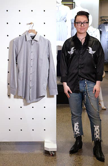 Traditional Fit Check Dress Shirt, sales video thumbnail