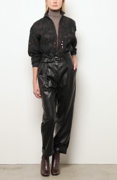Embellished Silk Tulle Bomber Jacket, video thumbnail
