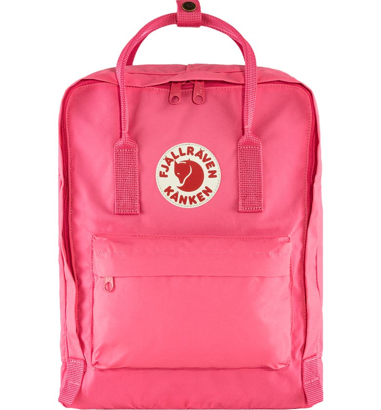FJÄLLRÄVEN Kånken Water Resistant Backpack, Main, color, FLAMINGO PINK