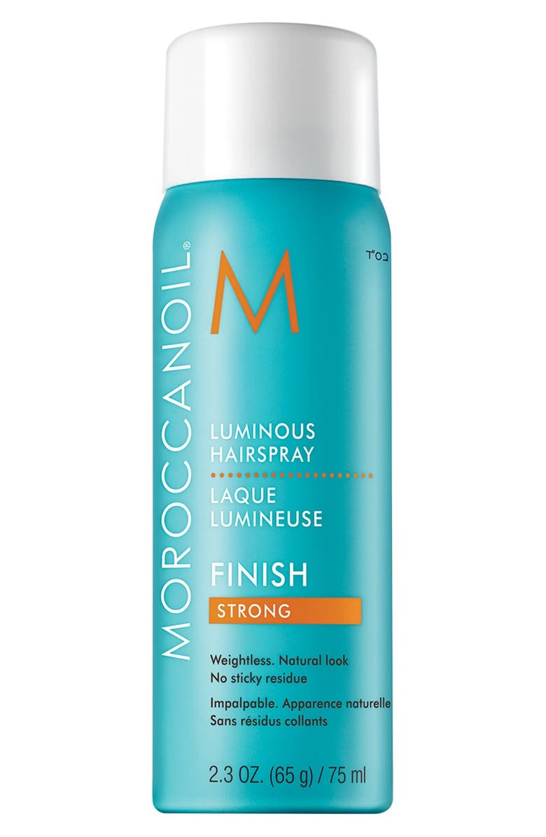 MOROCCANOIL<SUP>®</SUP> Travel Size Luminous Hair Spray Strong, Main, color, 000