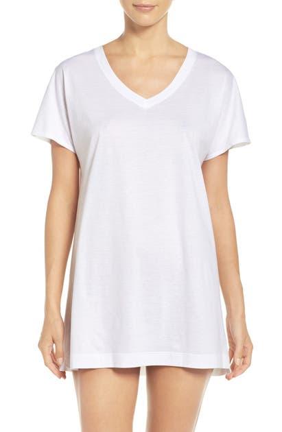 Hanro T-shirts LAURA JERSEY SLEEP SHIRT