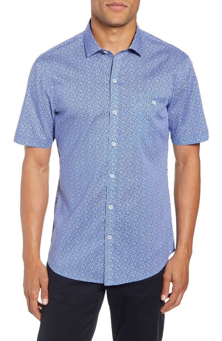 ZACHARY PRELL Prashant Regular Fit Shirt, Main, color, 400