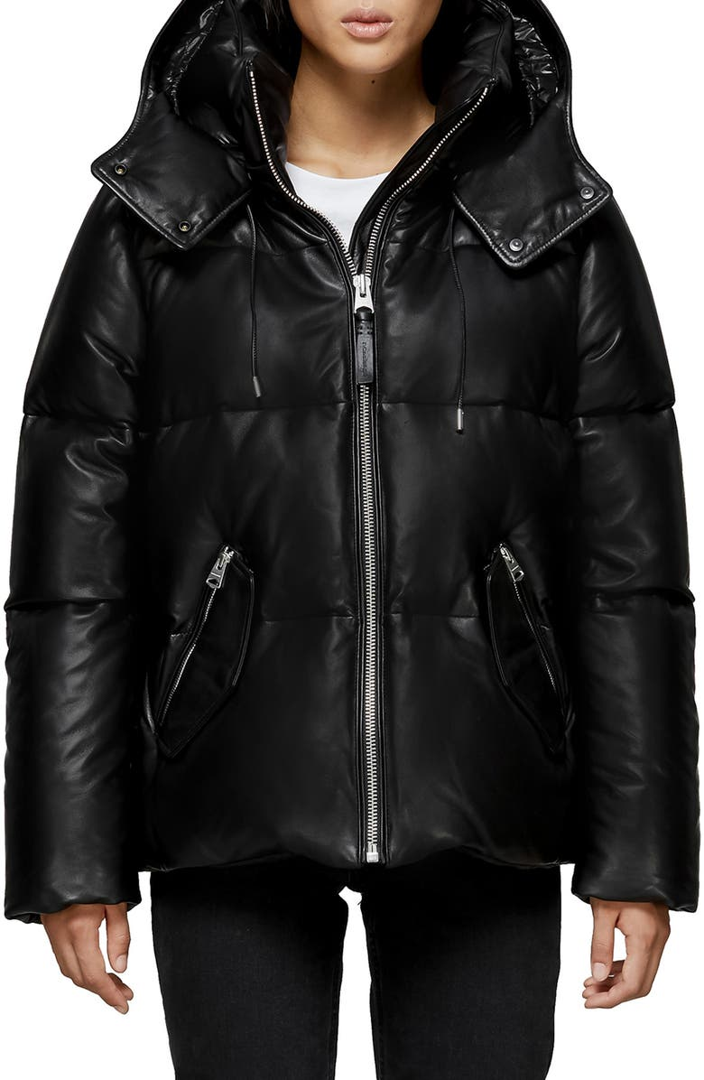 d16f59a31 Mackage Leather Down Jacket | Nordstrom