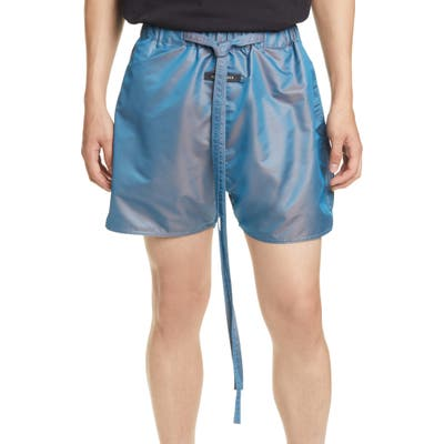 Fear Of God Military Physical Training Nylon Shorts, Blue