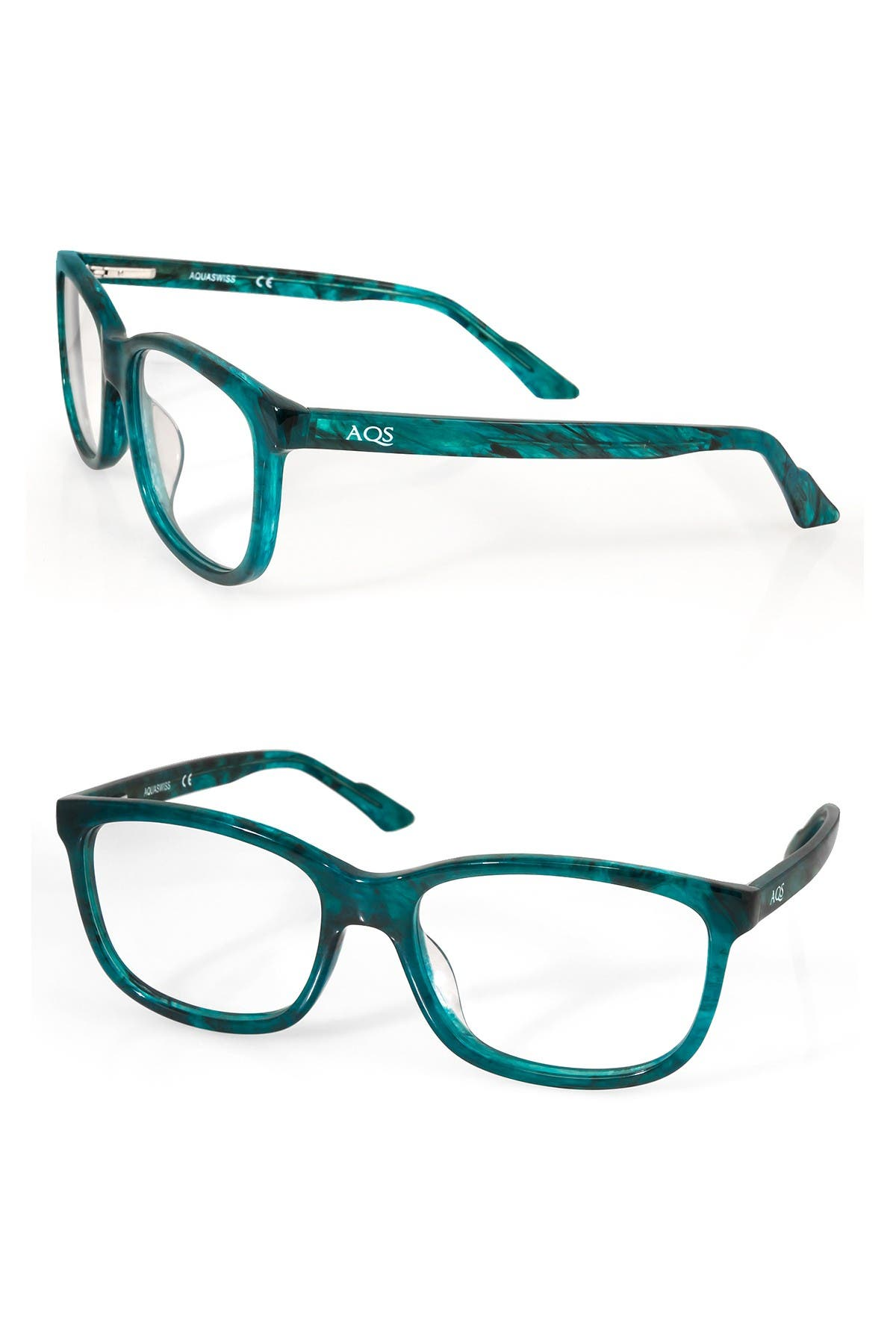 Image of AQS Collin 54mm Rectangle Optical Frames