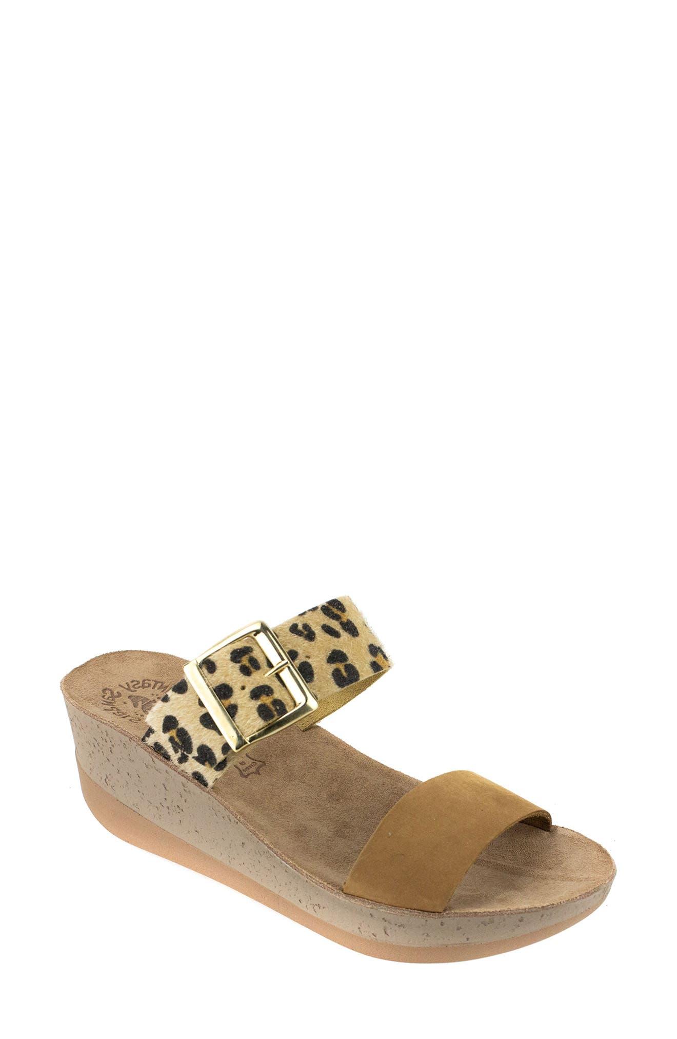 Artemis Wedge Slide Sandal