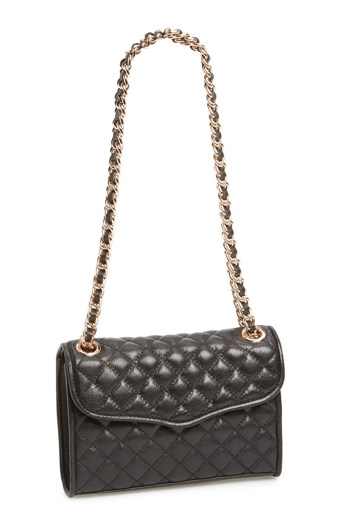 ,                             'Quilted Mini Affair' Convertible Crossbody Bag,                             Main thumbnail 1, color,                             001