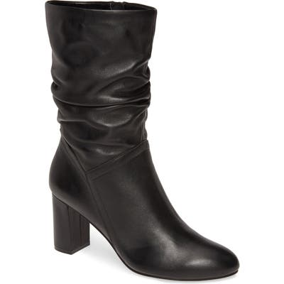 David Tate Slouch Boot, Black