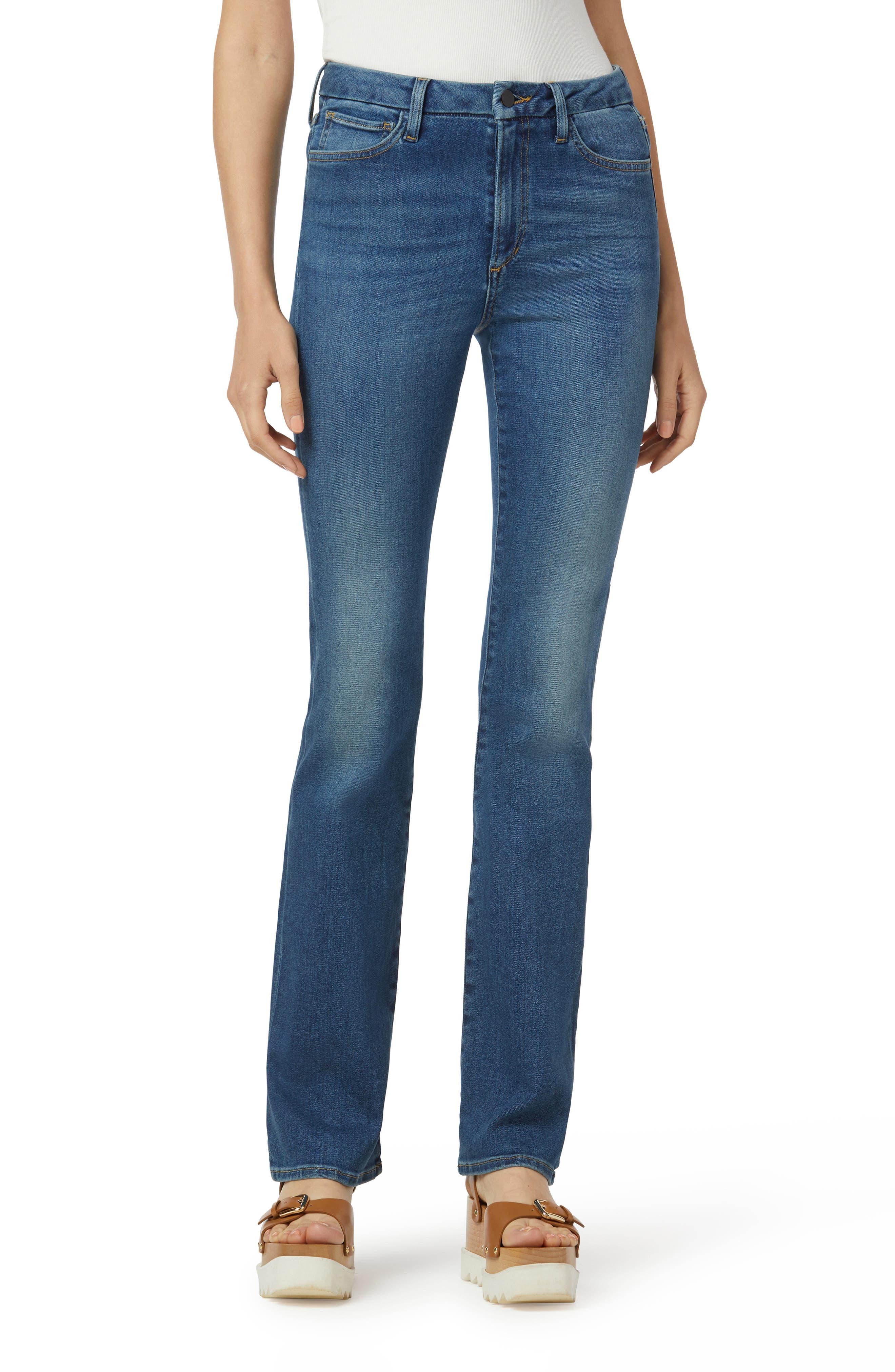 The Hi Honey High Waist Stretch Organic Cotton Bootcut Jeans