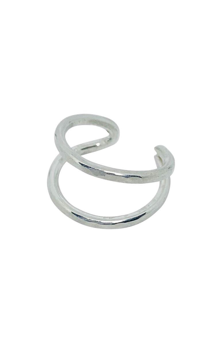 NASHELLE Aria Ring, Main, color, SILVER