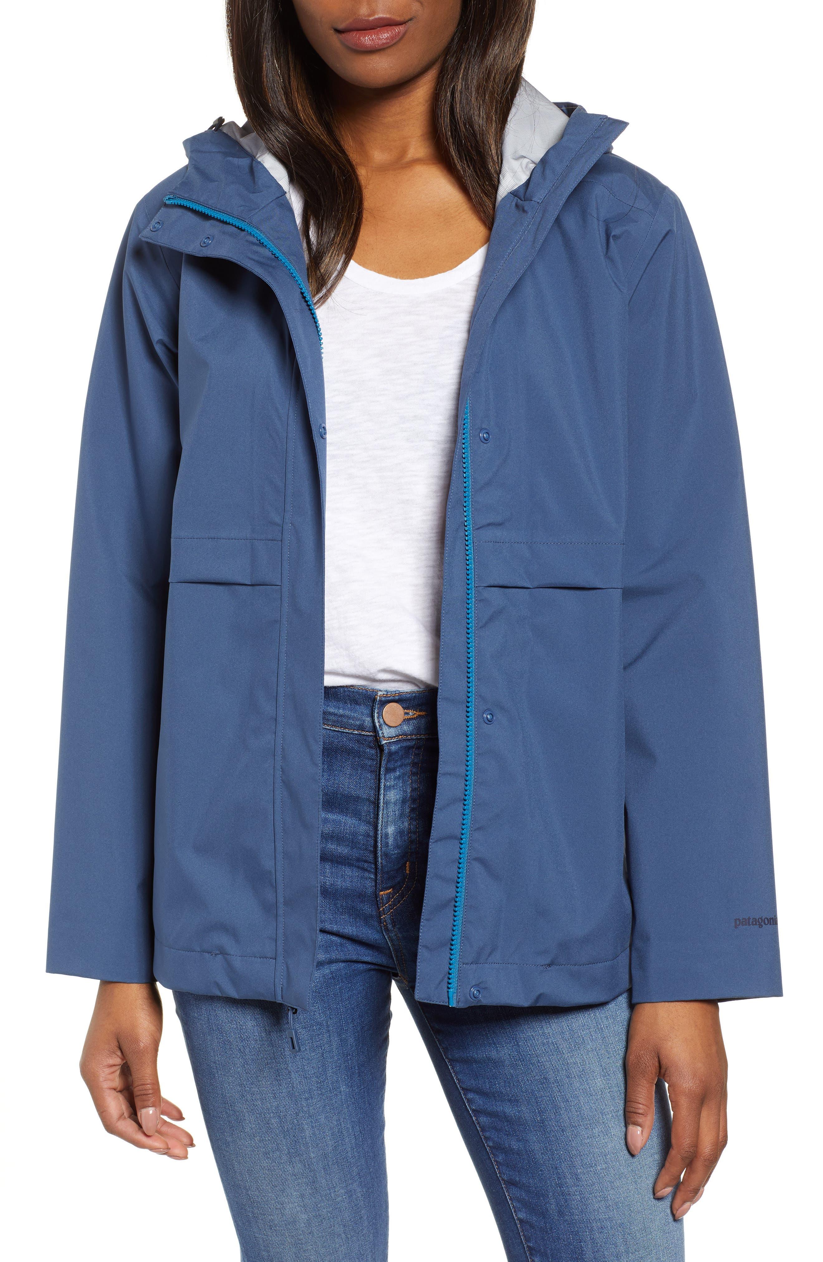 Patagonia Cloud Country Waterproof Jacket, Blue