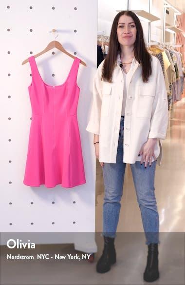 Lohanna Fit & Flare Dress, sales video thumbnail