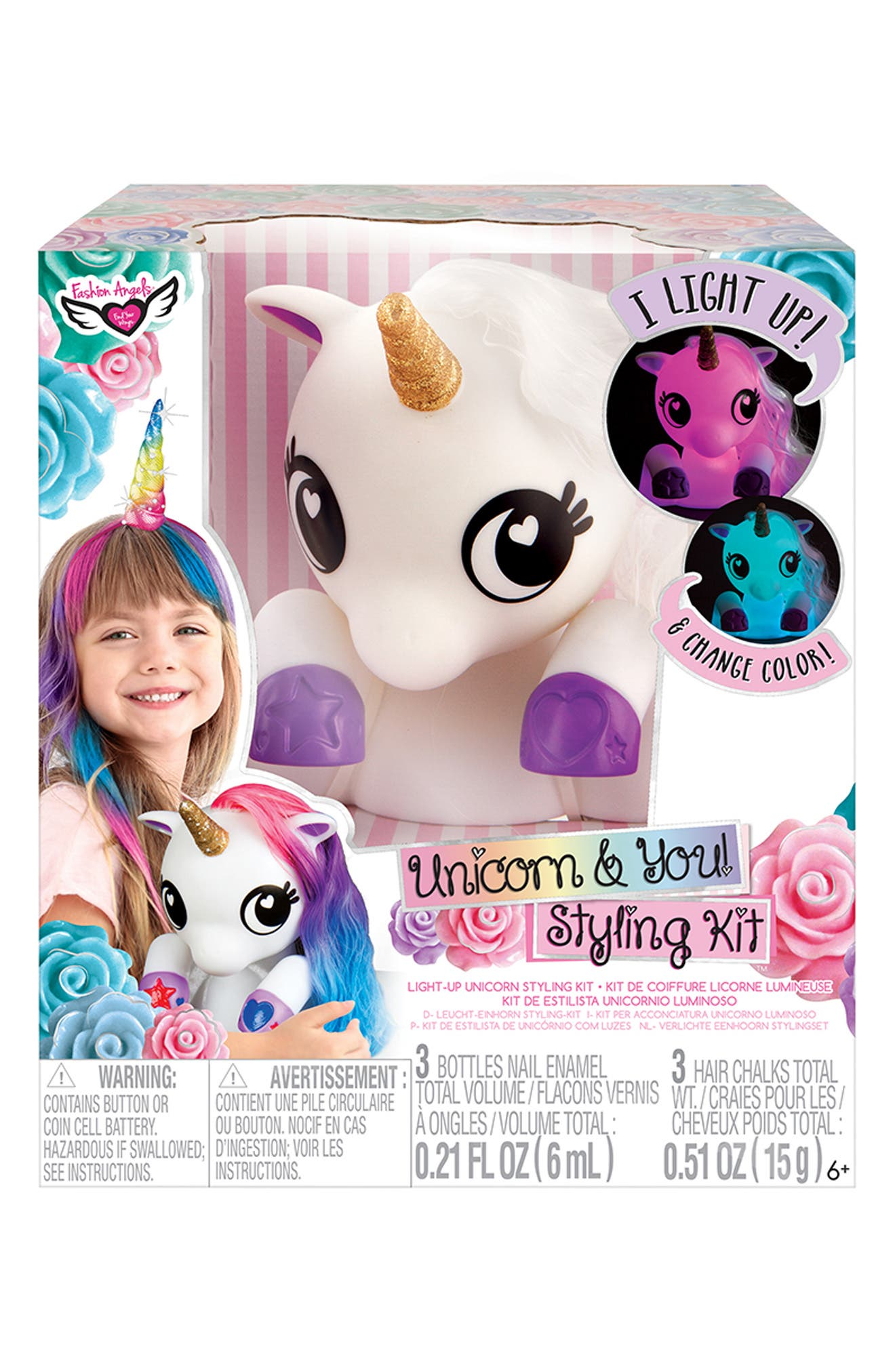 ,                             Unicorn & You Styling Kit,                             Alternate thumbnail 4, color,                             960