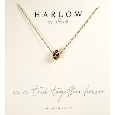 Harlow By Nashelle Knot Boxed Necklace