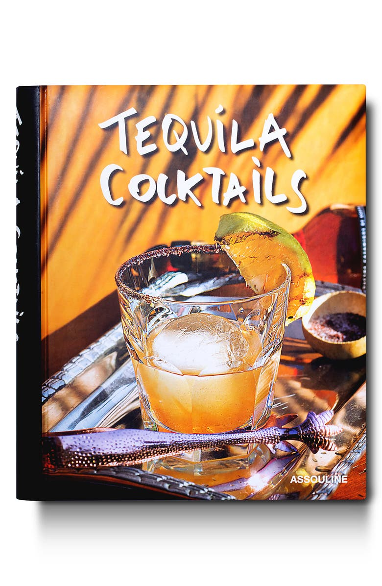 ASSOULINE 'Tequila Cocktails' Book, Main, color, YELLOW/ MULTI