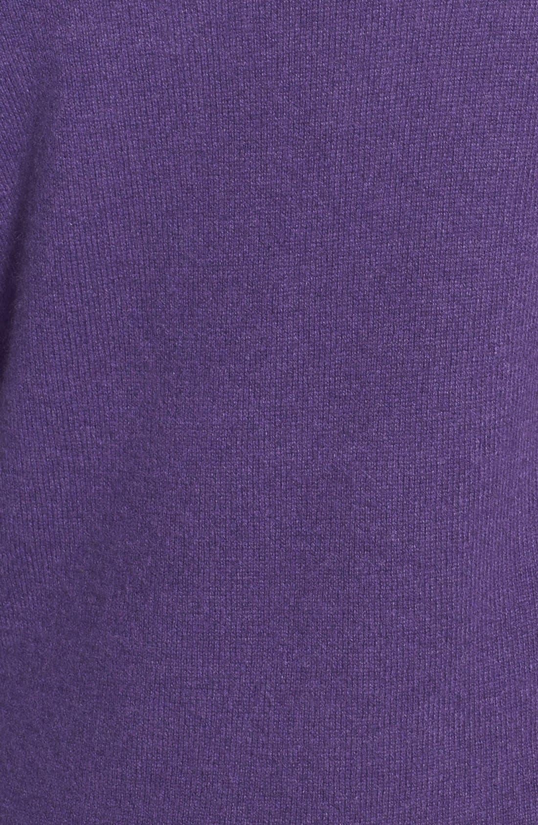 ,                             Cashmere V-Neck Sweater,                             Alternate thumbnail 62, color,                             500