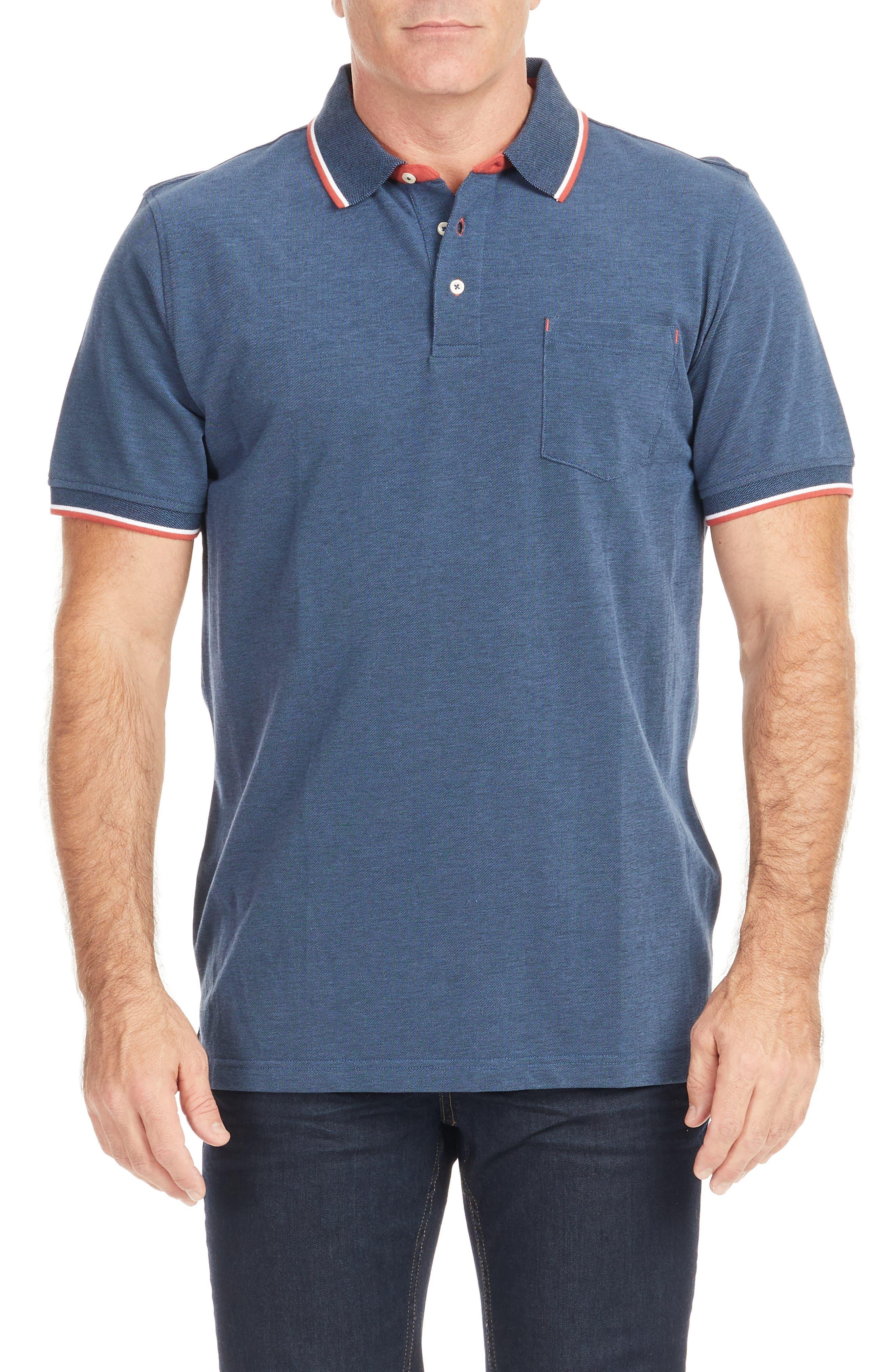 Nash Tipped Polo Shirt