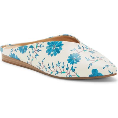 Lucky Brand Barbora Pointy Toe Mule, White
