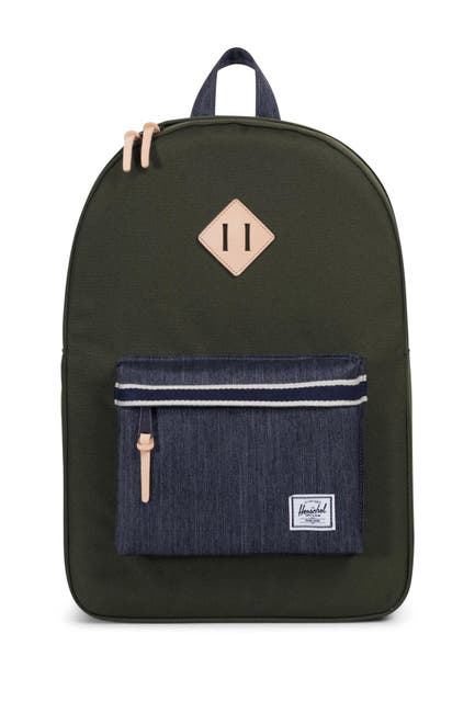 Image of Herschel Supply Co. Heritage Offset Denim Backpack