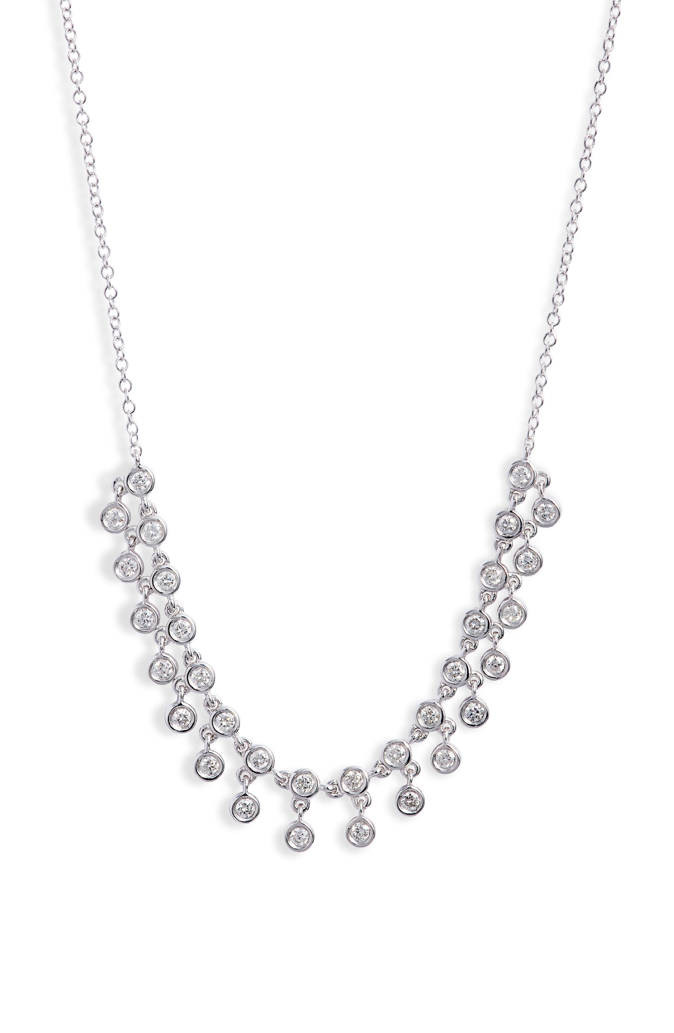 Diamond Frontal Necklace