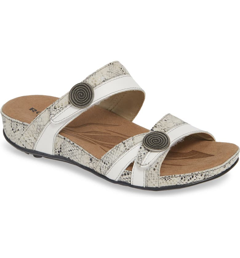 ROMIKA<SUP>®</SUP> 'Fidschi 22' Sandal, Main, color, WHITE LEATHER