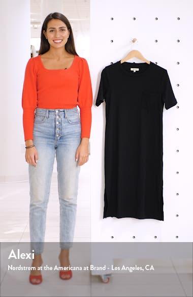 Rib Pocket T-Shirt Dress, sales video thumbnail