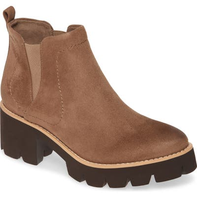 Bc Footwear Fight For Your Right Vegan Leather Bootie, Brown