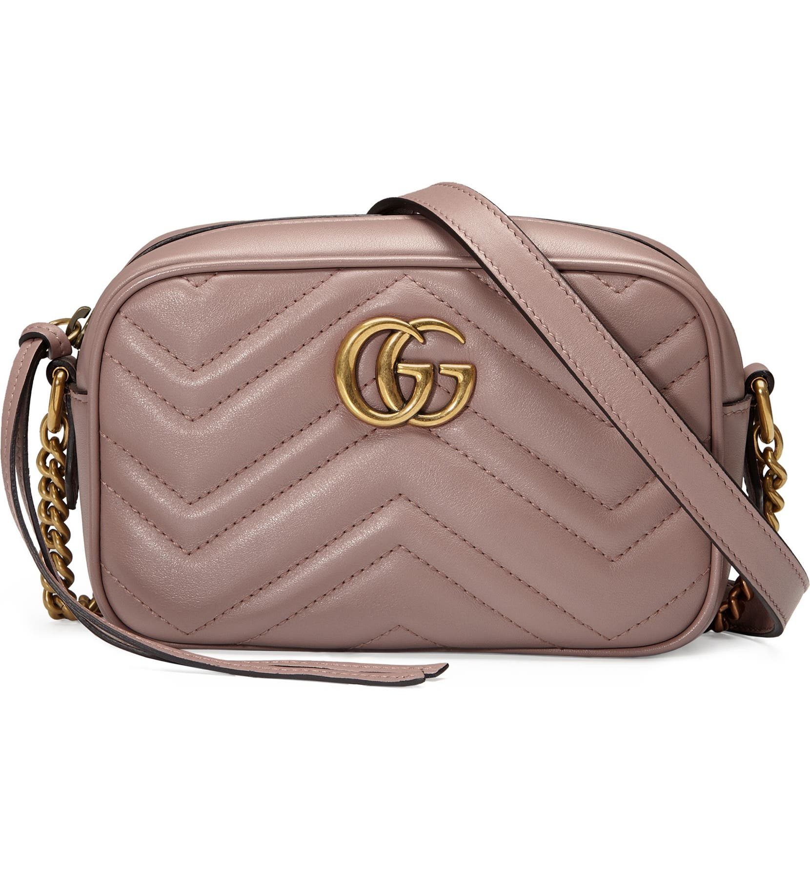 bc2d4d202c3e Gucci GG Marmont 2.0 Matelassé Leather Shoulder Bag | Nordstrom