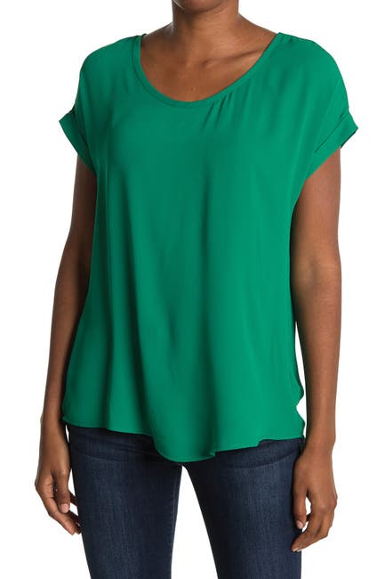 Image of Pleione Short Sleeve Scoop Neck Tee