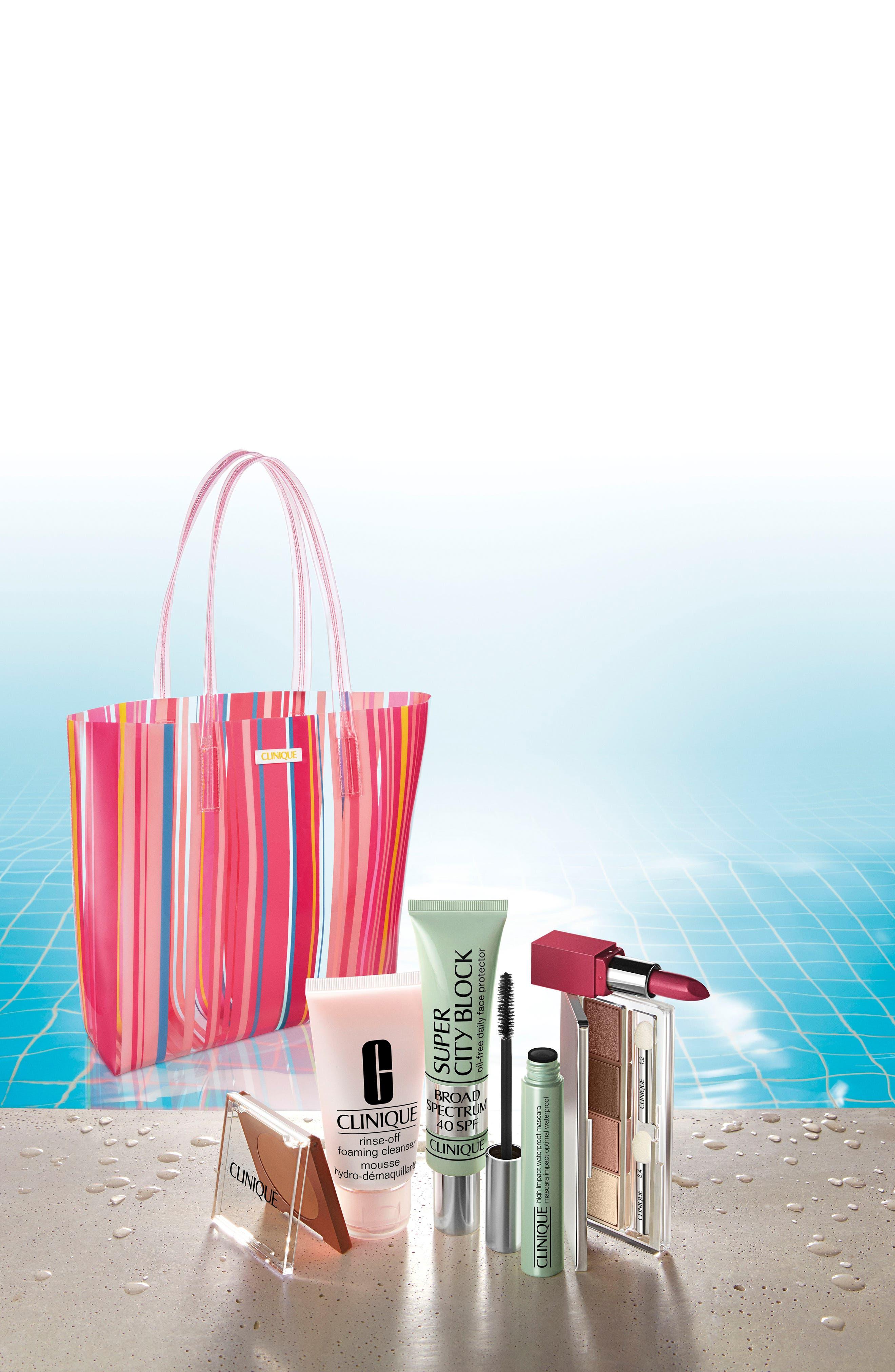 ,                             Beach Bag Essentials Set,                             Alternate thumbnail 2, color,                             000