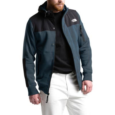 The North Face Highrail Fleece Hooded Jacket, Blue