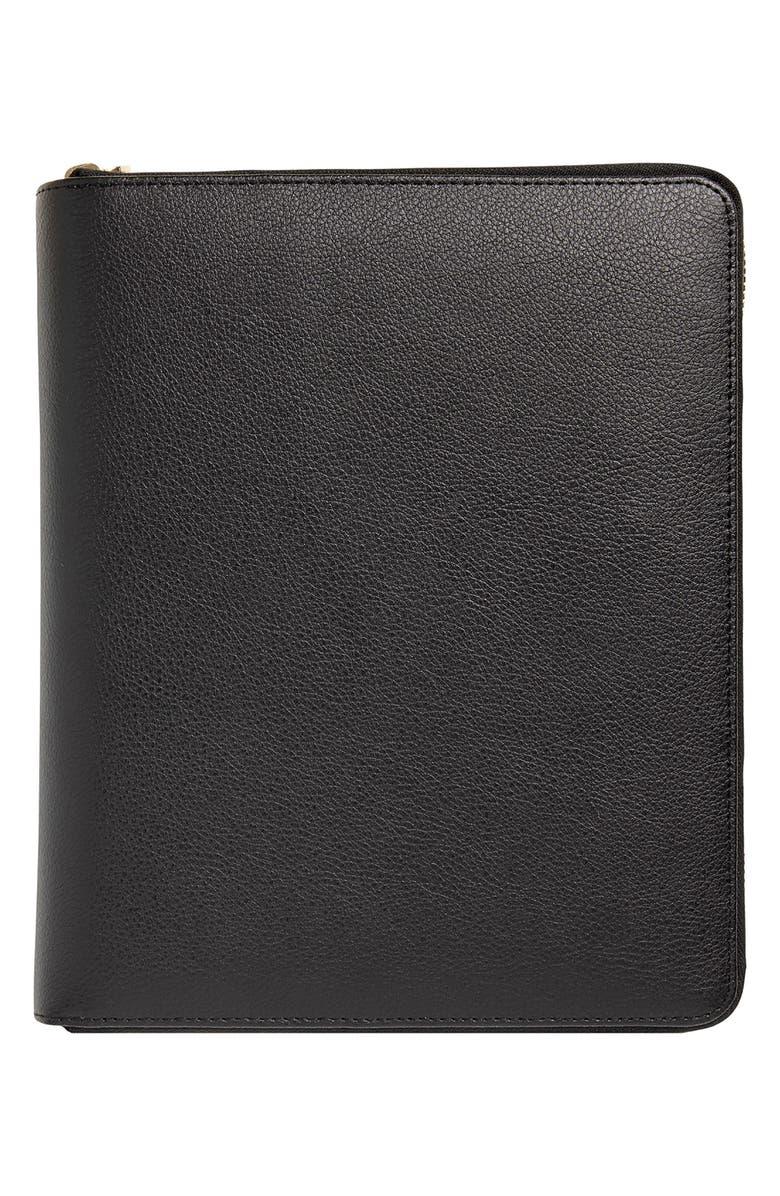KIKKI.K Zip-Around Leather 18-Month Perpetual Planner, Main, color, 002