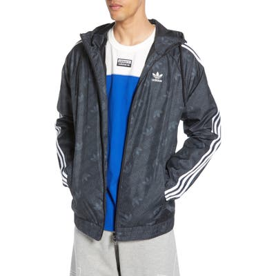 Adidas Originals Mono Windbreaker, Black