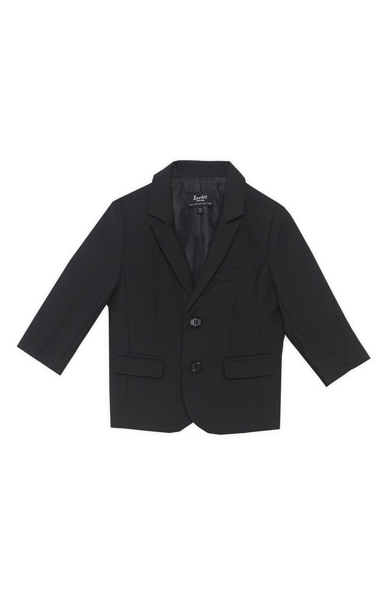 BARDOT JUNIOR Oscar Suit Jacket, Main, color, 001