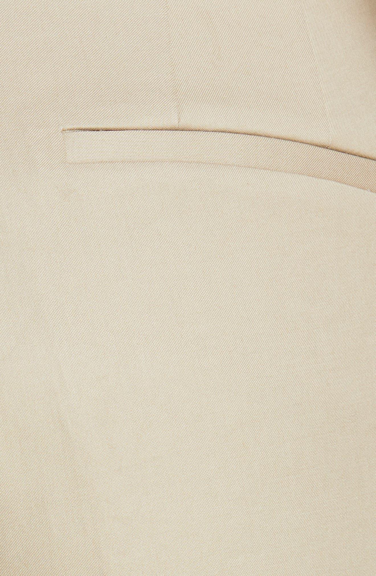 ,                             Embellished Crop Cargo Pants,                             Alternate thumbnail 5, color,                             SAND