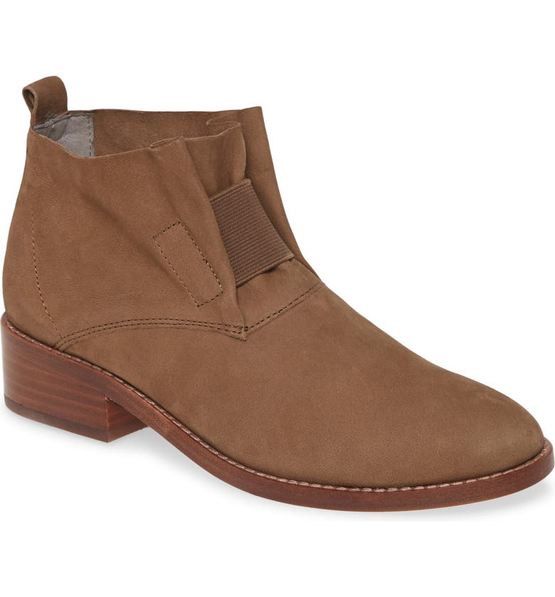 'Soul' Gathered Leather Bootie Eileen Fisher Booties Nordstrom Shoes