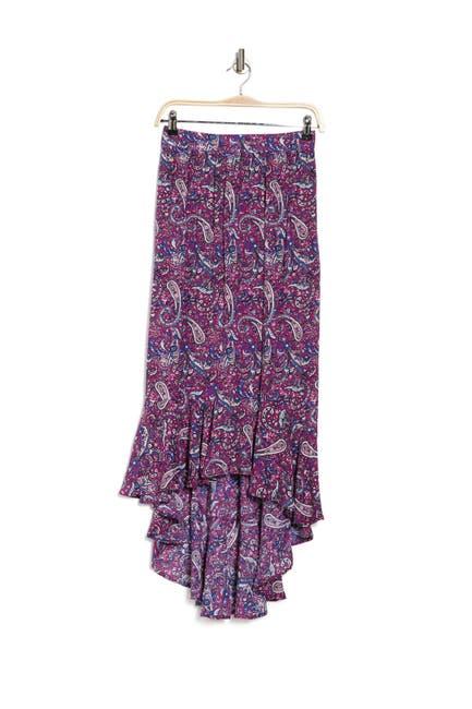 Image of Nanette Lepore Shayla High Low Skirt