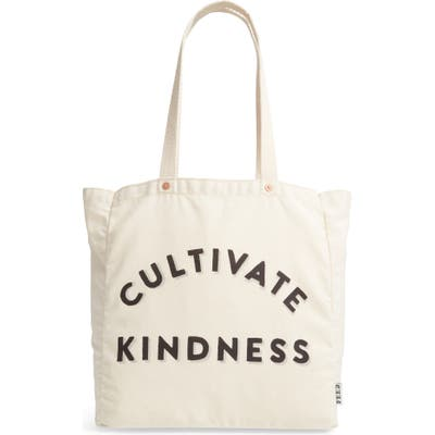 Feed Cultivate Kindness Canvas Tote - Ivory