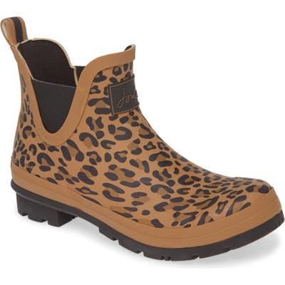Joules Wellibob Short Rain Boot, Brown