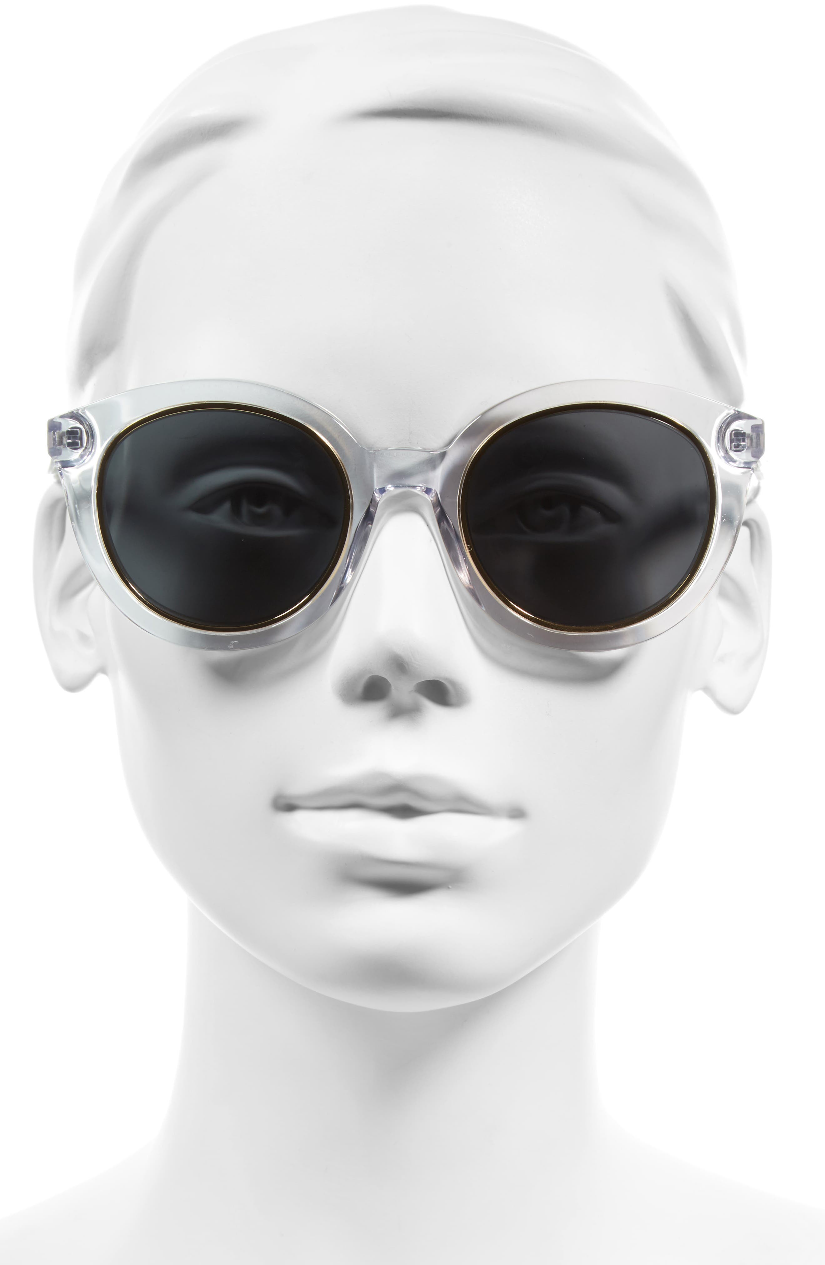 ,                             Holland 50mm Gradient Round Sunglasses,                             Alternate thumbnail 10, color,                             100