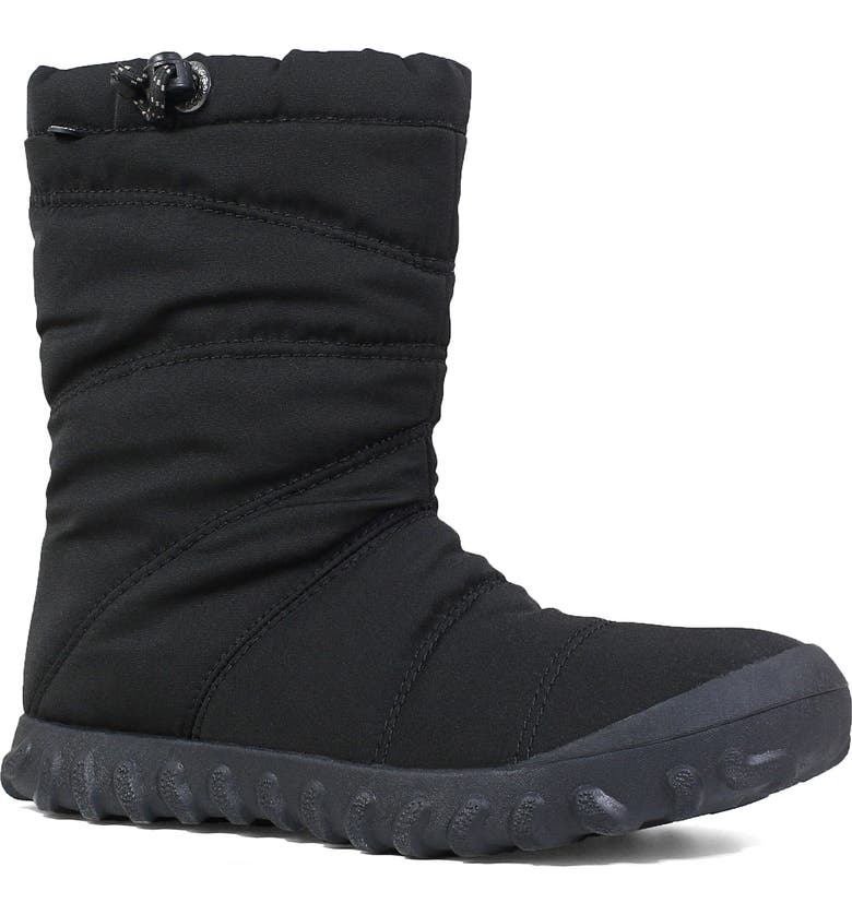 BOGS Puffy Insulated Waterproof Boot, Main, color, BLACK