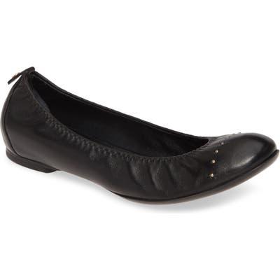 Agl Studded Ballet Flat, Black
