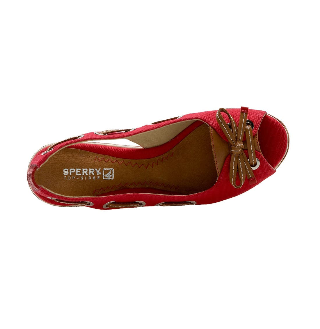 ,                             Top-Sider<sup>®</sup> 'Southport' Slingback Wedge,                             Alternate thumbnail 12, color,                             600