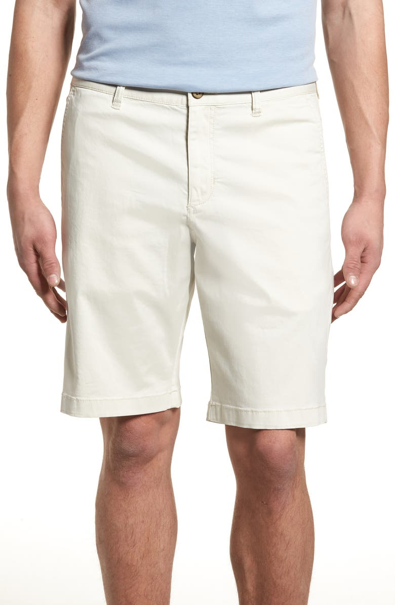 TOMMY BAHAMA Boracay Chino Shorts, Main, color, BLEACHED SAND